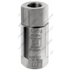 Non-return valve 1/2 HP INOX-Viton