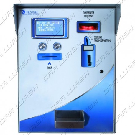 Coin change machine BASIC Change with banknote reader