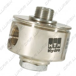 Swivel coupling 90° MF 1/4
