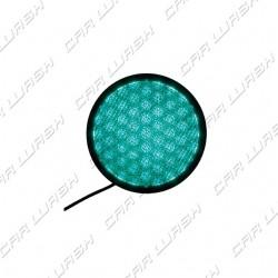 Green LED Traffic Light 8 W 220 V. - d. 214 mm. (200)