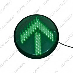 Green Arrow Led traffic light 7W 220V. - d. 214 mm. (200)