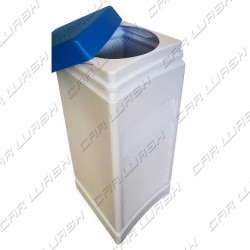 Detergent drum 82 liters 31x31x90 blue lid