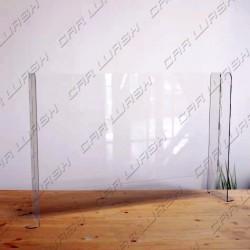 Small plexiglas wind protection 80x70x28 cm