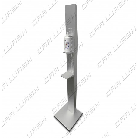 Floor stand for disinfectant gel