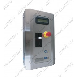 Stainless steel Multiprogram control box
