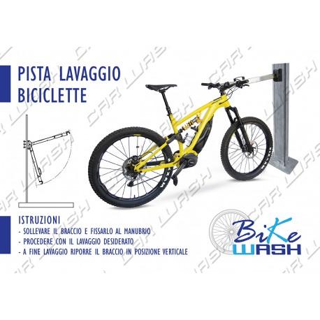 Bike Wash support A4 sticker