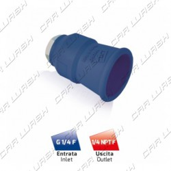 1/4 1/4 nozzle holder with blue protection