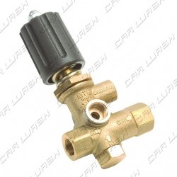 Pressure regulator 40L 200 bar with black knob