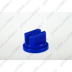 Flat Head atomizer nozzle in blue plastic