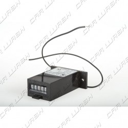 Resettable pulse counter