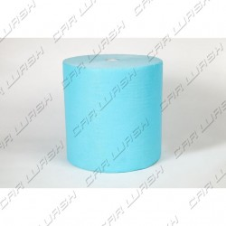 Light blue synthetic leather roll 100mt 32cm x 40cm