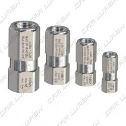 HP stainless steel anti-return valve FF1 / 4