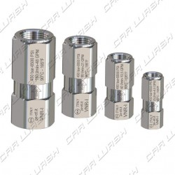 HP stainless steel anti-return valve FF1 / 2