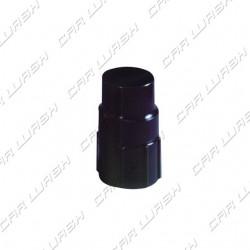 Black swivel hose / nozzle fitting for 51/51 tube