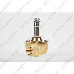 ODE 2 1/2 way solenoid valve body (NBR) NC in brass