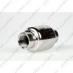 Low pressure valve. stainless steel backstop FF 3/8 ''