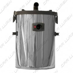 Lid for d400 drum / drum with float