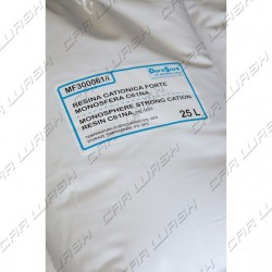 Cationic resin