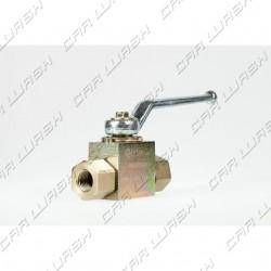 Steel ball valve