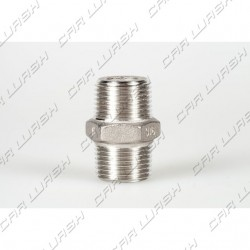 Fitting MM 1/2 stainless steel nipple