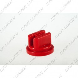 Atomizer nozzle Flat head in red plastic