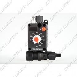 Pneumatic dosing pump 6 l / h 6 bar