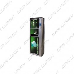 230 V. paper towel dispenser with electronic coin mechanism