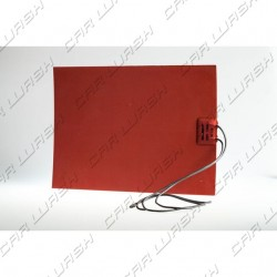 Adhesive heater resistance 25x18 cm 220V 150W double insulation 50 cm of cable
