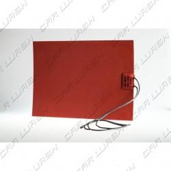 Resistenza riscaldatore adesivo 25x18 cm 220V 150W doppio isolamento 50 cm di cavo