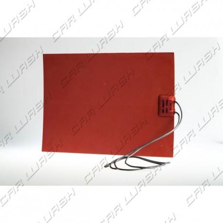 Adhesive heater resistance