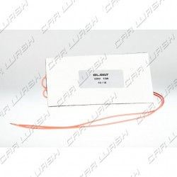 Adhesive heater resistance