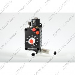 Pneumatic dosing pump 6 l / h 6 bar (viton-inox) with solenoid valve 24c.a.
