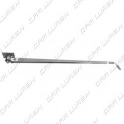 Braccio rigido L1750mm con tubo flessibile interno uscita 3/8M