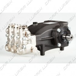 Pompa Hawk NMT destra 1220 SCWR per Car Wash testa nichelata + tenute CW