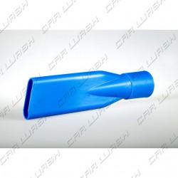 Blue PVC nozzle