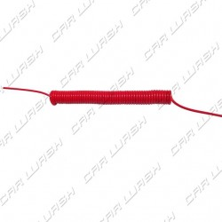 8x5 RED spiral tube with memory 10,00 mt. 1 rec. M1 / 4