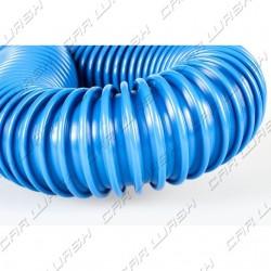 Vacuum hose blue D38