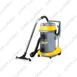 Vacuum cleaner / liquid 2900W plastic bin 3 BASCULATING engines