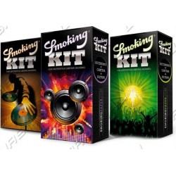 Kit smoking conf 3pz.(accendino,filtri,cartine)